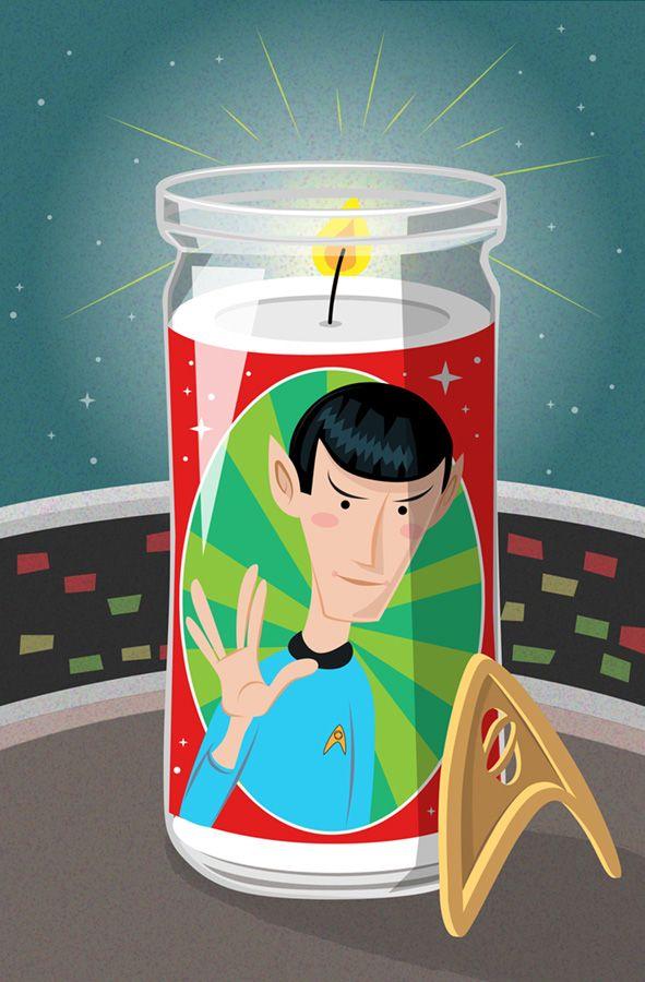 RIP Spock, #obituary, #character, #portrait, #scifi, #startrek