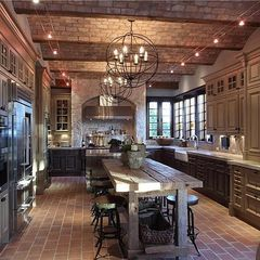 Tudor kitchen...in my dreams but LOVE it!
