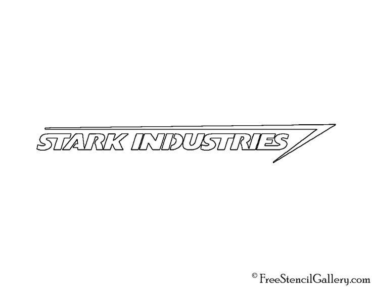 Stark-Industries-Logo-Stencil.jpg (1100×850)