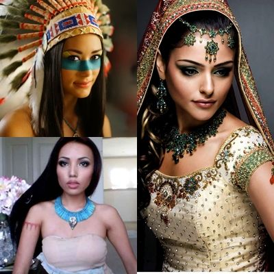 http://maquillajenocheydia.com/maquillaje-de-india/ Los Mejores Vídeos Tutoriales de Maquillaje de India Aprende a Maquillarte Paso a Paso y haz más auténtico tu disfraz de Carnaval ¡Estarás guapísima y súper sexy! 3 estilos diferentes: Maquillaje de India Nativa, de Princesa India y de Pocahontas. Elige la opción que más te guste. ¡Todos ellos son fantásticos y súper originales! Incluso si quieres apreder a hacer tu disfraz casero o comprarlo al mejor precio, te damos algunas…