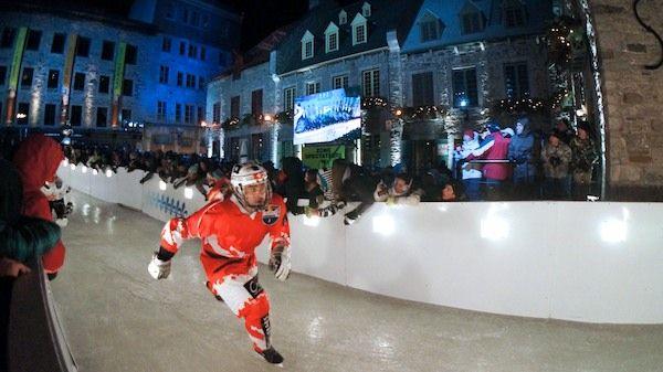 Red Bull Crashed Ice Québec à la Place Royale (Québec)