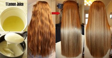 How To Make Hair Straight Mask And Straight Hair At Home