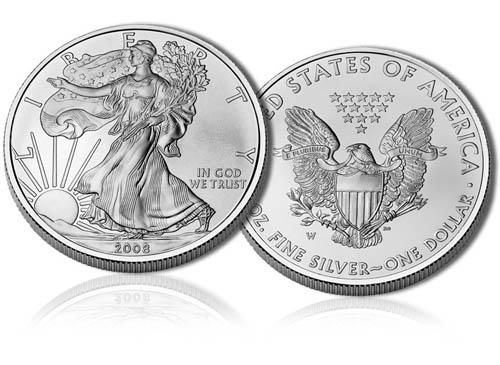 Argento da investimento Silver Eagles