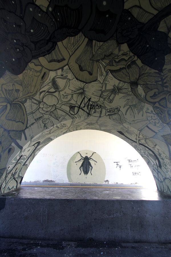 Not graffiti, not even art, just design. by Iker Muro, via Behance