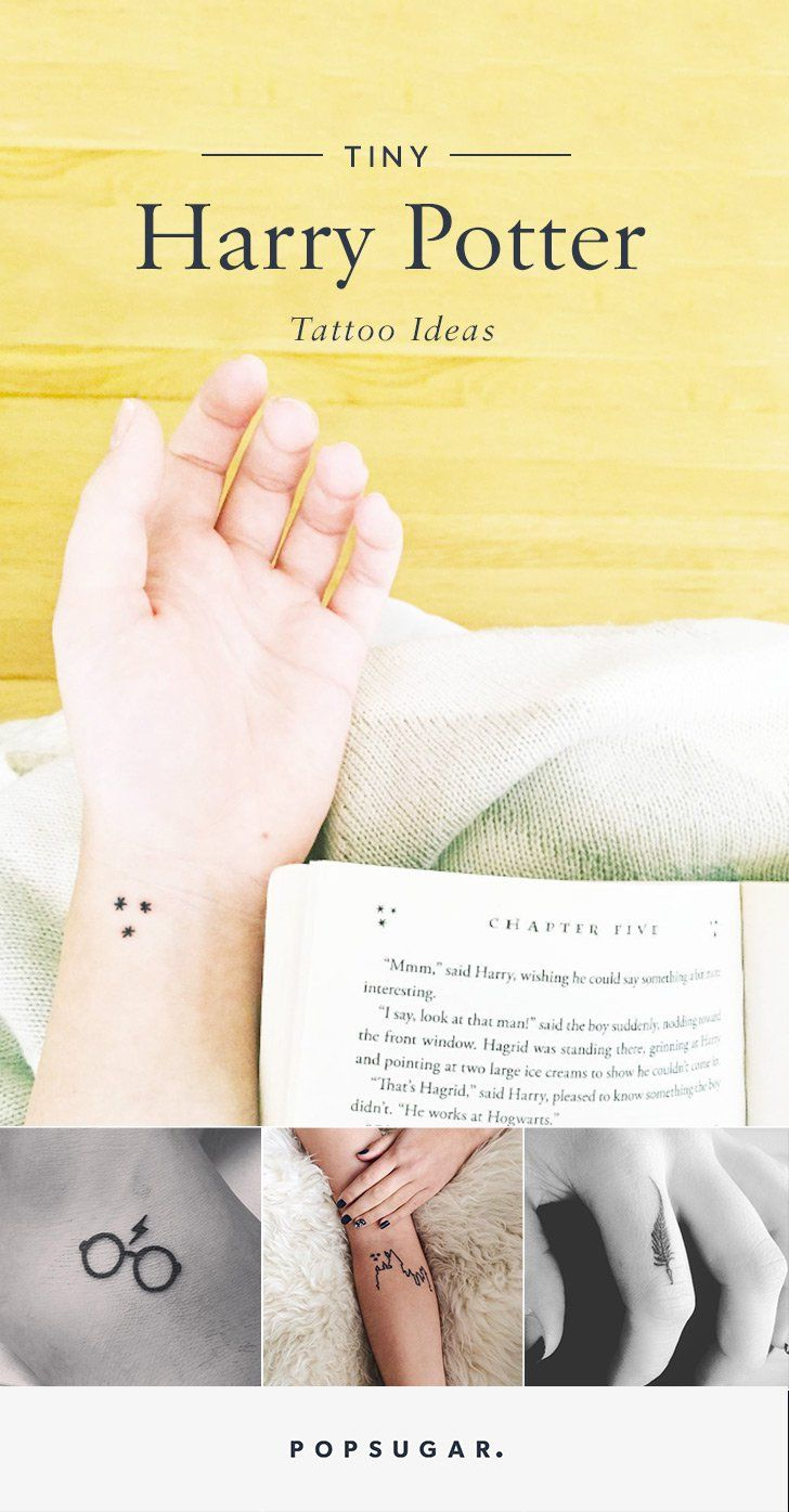 Small Harry Potter Tattoo Ideas | POPSUGAR Tech