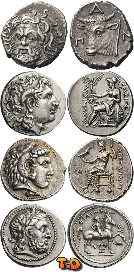 N♡T.GREEK COINS KINGS of MACEDON