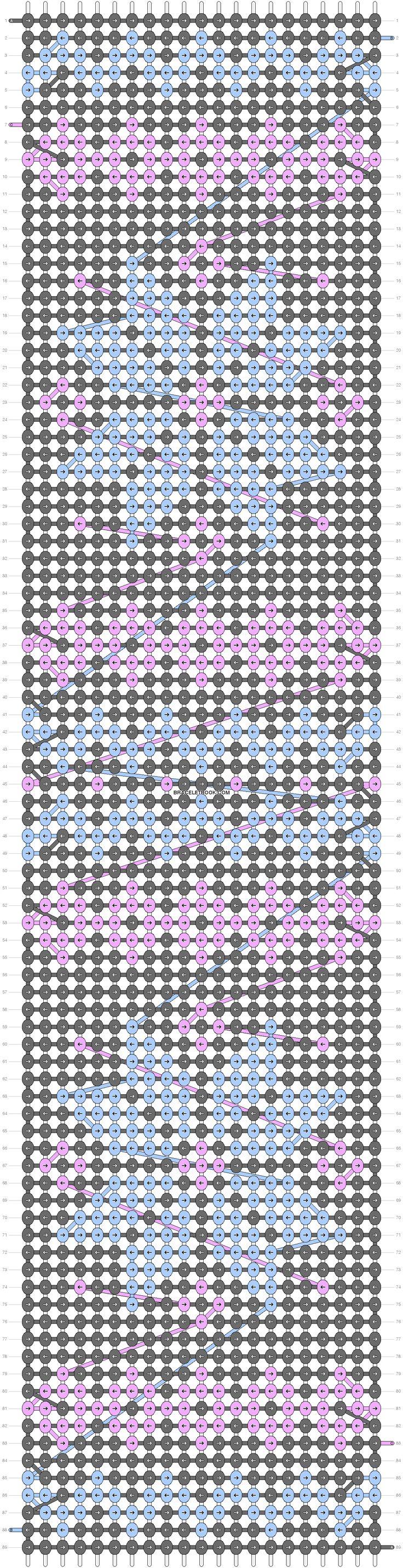 Wayuu Mochilla Bag Chart 87