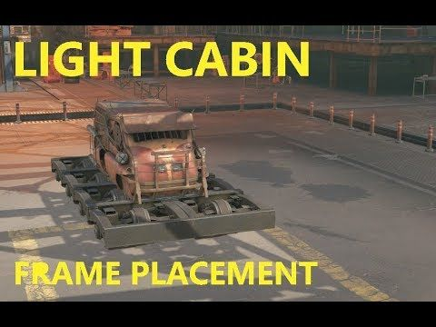 Crossout 101 - Frame placements on: Light frames