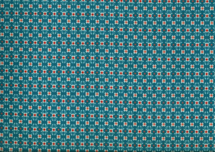 17 best images about tissus on pinterest fabrics kawaii and evergreen - Tissus bleu turquoise ...