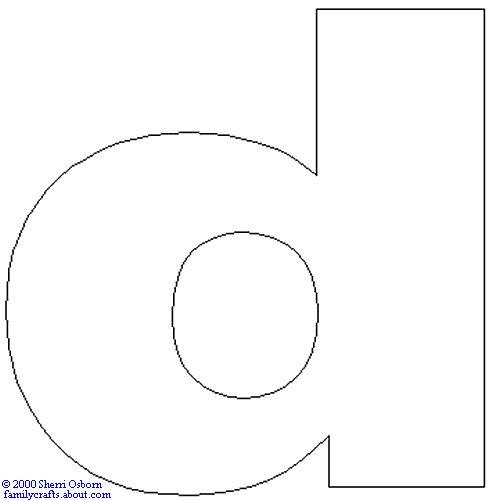 51 best abc templates lower case images on Pinterest
