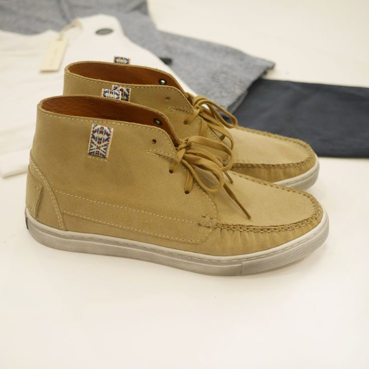 Who wants blue suede shoes when you can have sand suede shoes? Unmarked - Balak Sand Suede http://store.aquirkoffate.com/brand/unmarked-mx