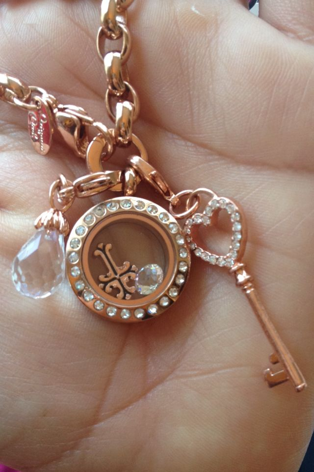 Origami owl rose gold bracelet, living Lockets get yours today @ www.asaylor.origamiowl.com  Thanks!