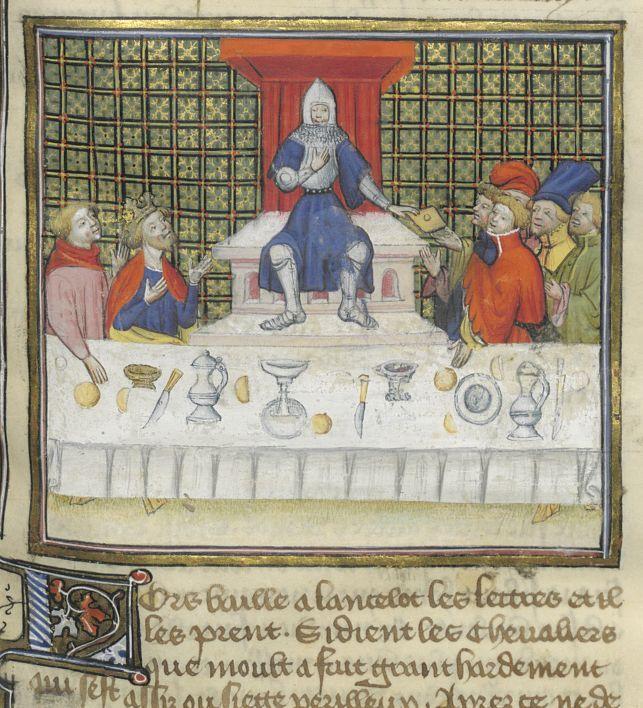 194 best a table images on pinterest 17th century - Tristan le chevalier de la table ronde ...