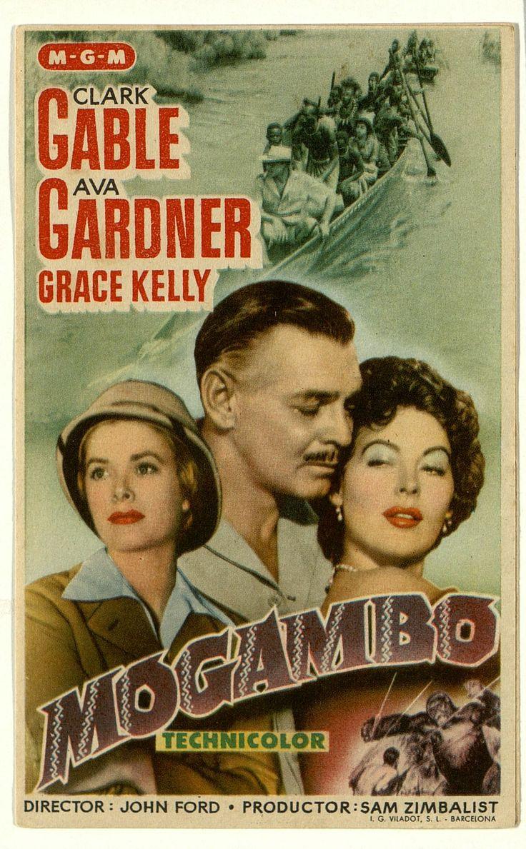 66.Mogambo. Dirigida por John Ford. Barcelona: I. G. Viladot, [1953]…