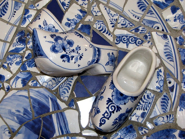 Holland's Delft Blue, love at 1st blue & white site!