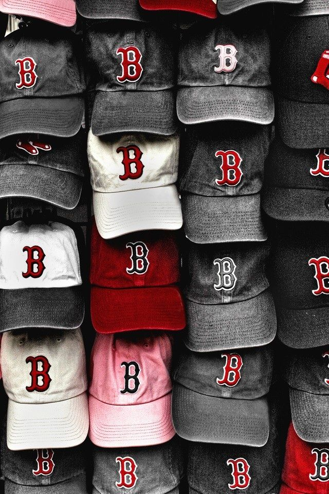 Red Sox, caps- GREAT PHOTO!