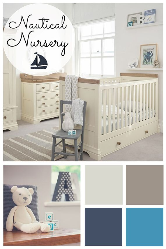nautical sailor theme nursery inspiration