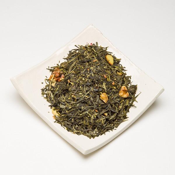 Loose Leaf Walnut Sencha Premium Green Tea by Satya Tea - Liquid Wisdom from only $6