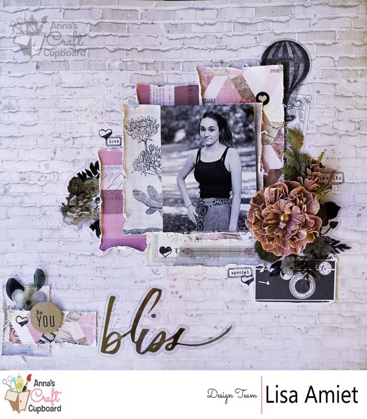 Heidi Swapp Magnolia Jane collection is absolutely stunning - with it's floral and gold features, it represents all things elegant. Lisa Amiet recently got creative with the range and has some beautiful layouts and cards to share with you ... Here we have Lisa's first layout titled 'Bliss' … all the gorgeous details are over on Anna's blog now!