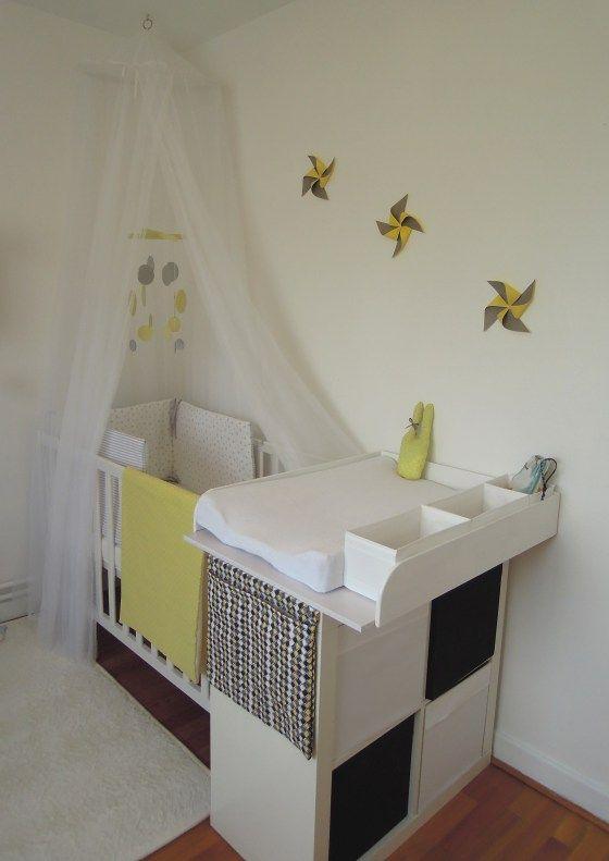 Les 25 meilleures id es de la cat gorie tables langer for Amenager chambre parents avec bebe