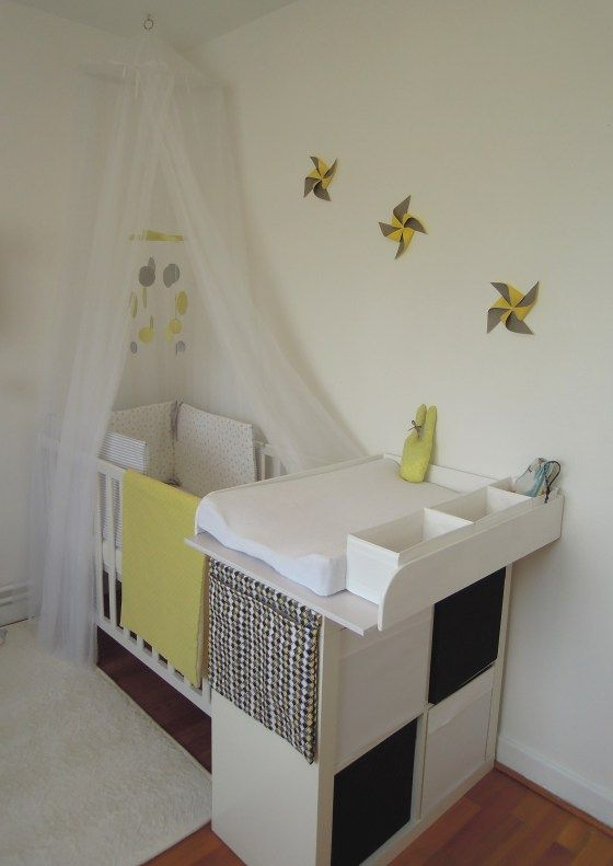 Amenagement petite chambre parent bebe avec for Separation chambre parents bebe