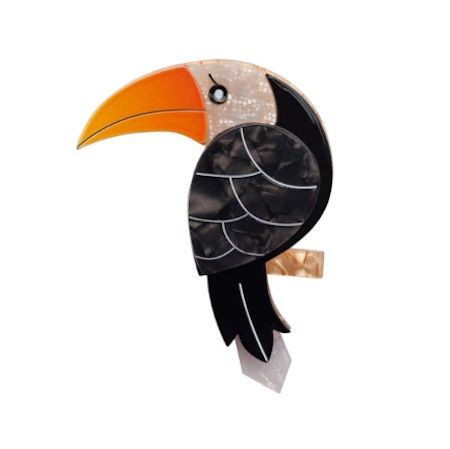 Buy Erstwilder Terrance the Toucan Brooch online. Each limited edition Erstwilder brooch comes beautifully presented in a gift box.