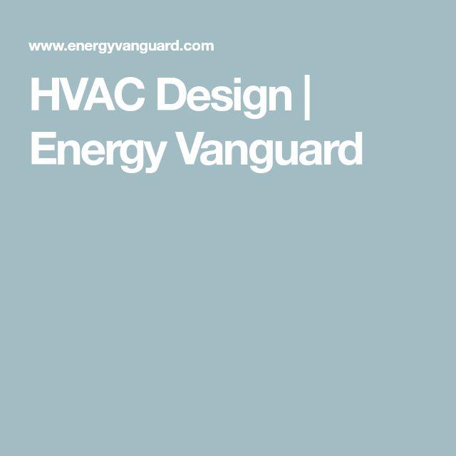 HVAC Design   Energy Vanguard