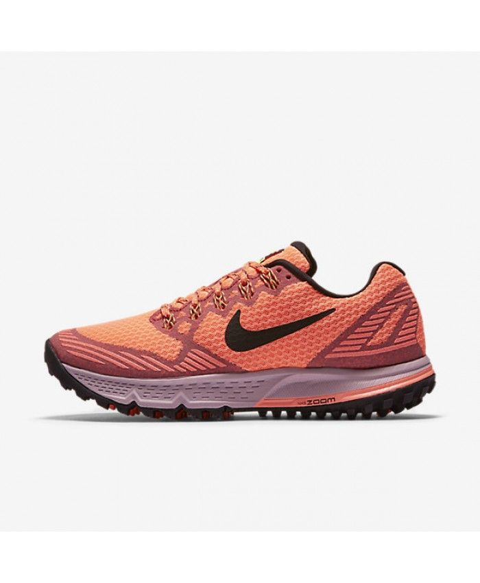 05cbe053ee8 Nike Air Zoom Wildhorse 3 Bright Mango Ember Glow Volt Black Women s Shoes