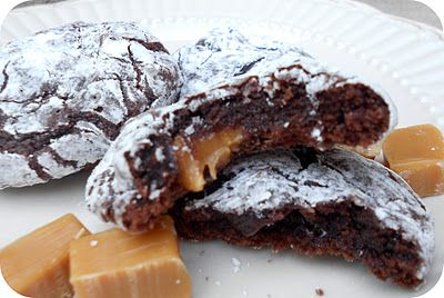 caramel brownie cookies recipe