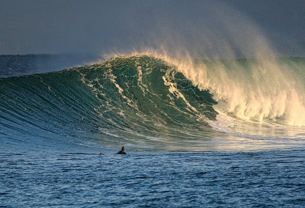 Hawaii? Nope. It's Thurso East Surf, at the very top of Scotland.