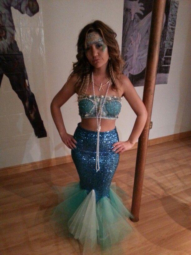 Homemade Mermaid Costume                                                                                                                                                     More