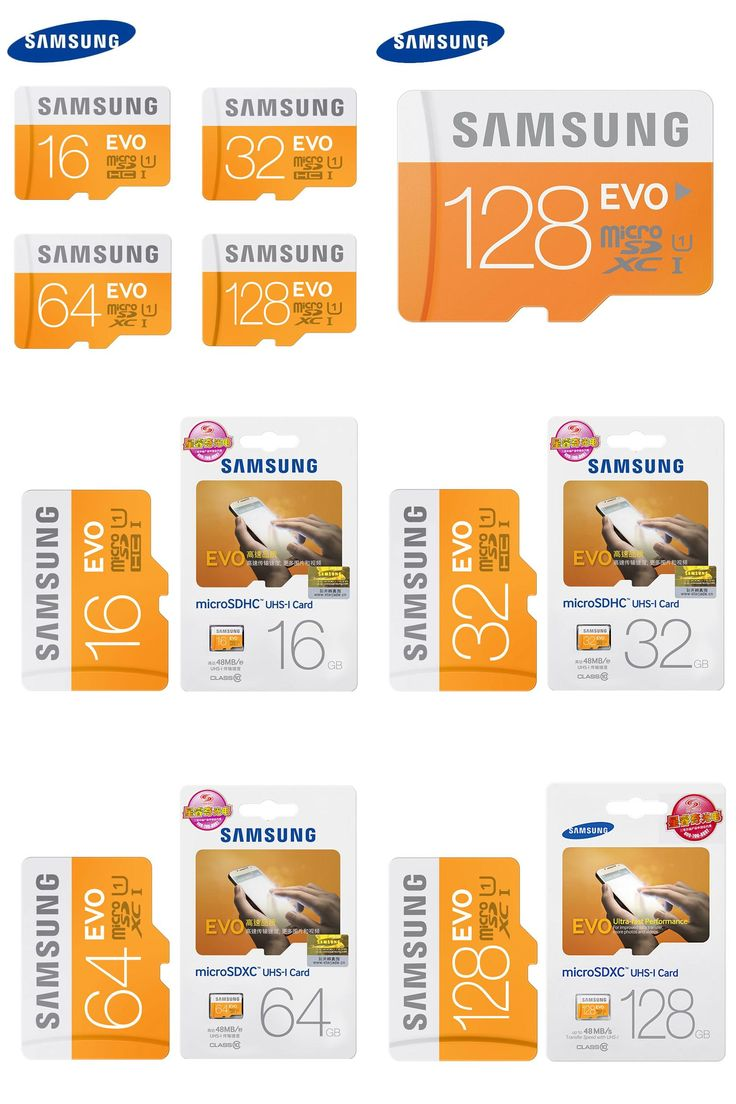 [Visit to Buy] SAMSUNG Micro SD Memory Card 128GB 16G 32G 64G MicroSD Cards SDHC SDXC Max 48M/s EVO UHS-I C10 UHS TF Flash Mikro Card (EVO 48M) #Advertisement