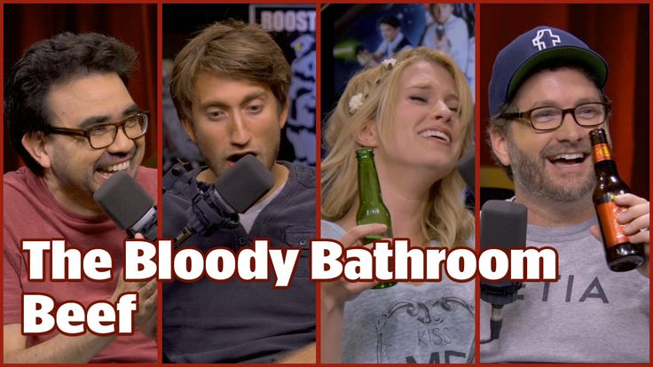 The Bloody Bathroom Beef - Rooster Teeth Video Podcast #334