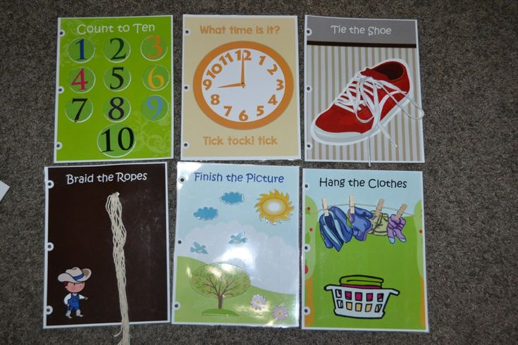 DIY Quiet Book Ideas - Baby Busy Book - Quiet Books For ...