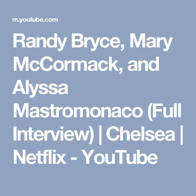 Randy Bryce, Mary McCormack, and Alyssa Mastromonaco (Full Interview)   Chelsea   Netflix - YouTube