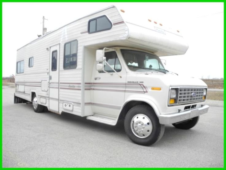 1988 Real Lite 26 Used NO RESERVE CLASS C RV CAMPER MOTOR HOME KITCHEN FORD 460