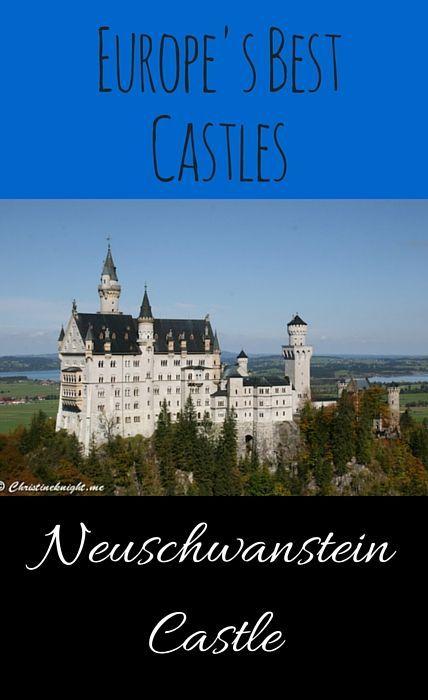 Neuschwanstein Castle via christineknight.me