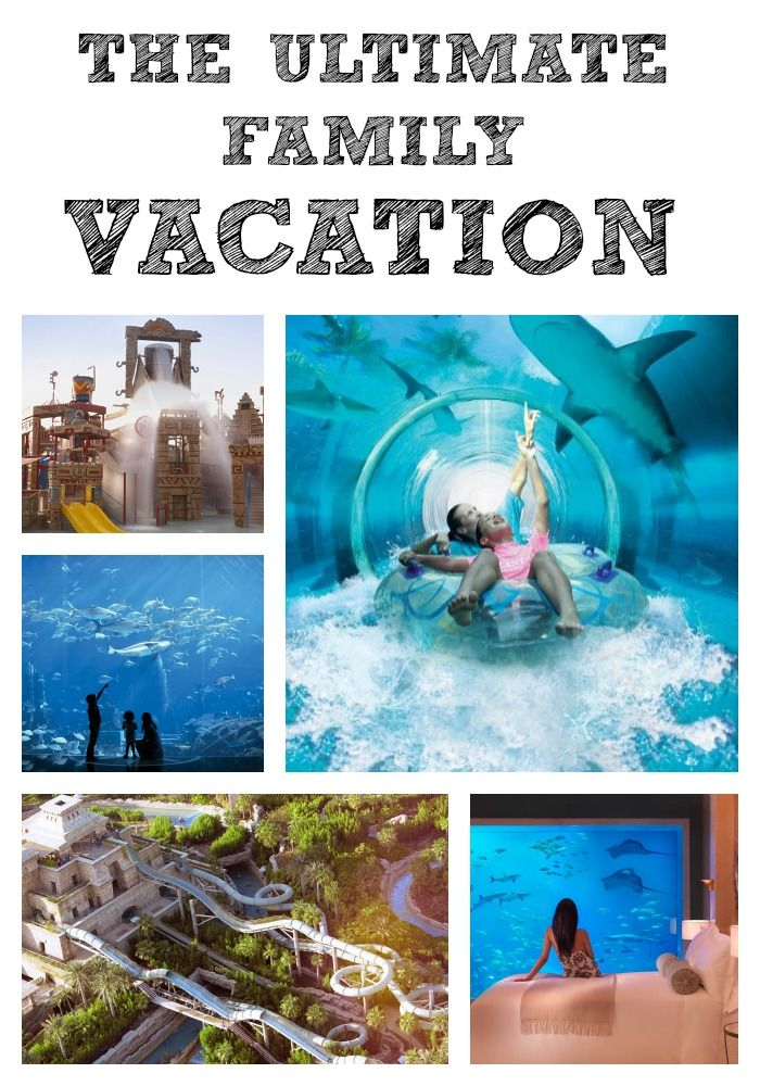 WOW! This just might be one of the best family friendly resorts EVER!! Check out our idea of The Ultimate Family Holiday...
