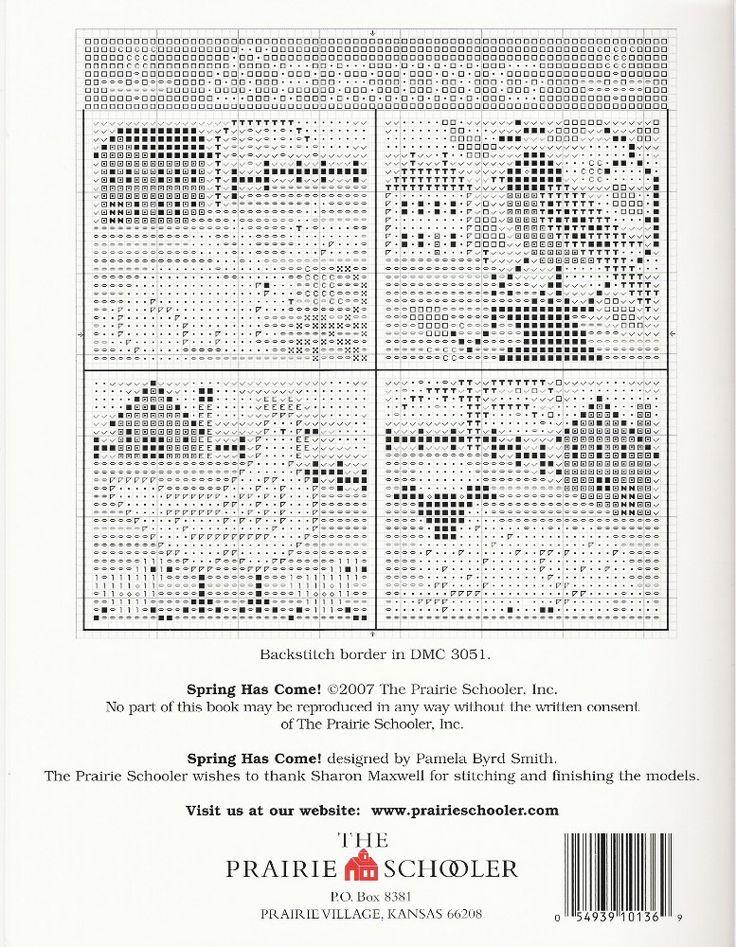 17 Best Images About Cross Stitch Prairie Schooler On