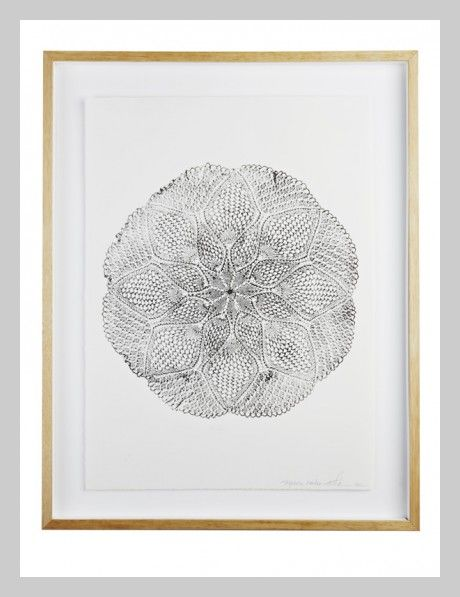 Japanese Garden Mandala Print | Lumiere Art + Co.