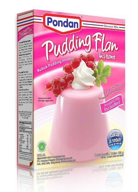 Pondan Pudding Flan