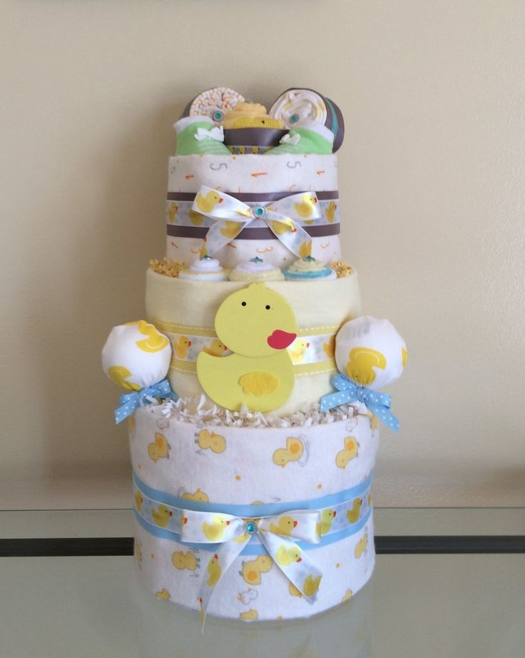 Little Diaper Cakes