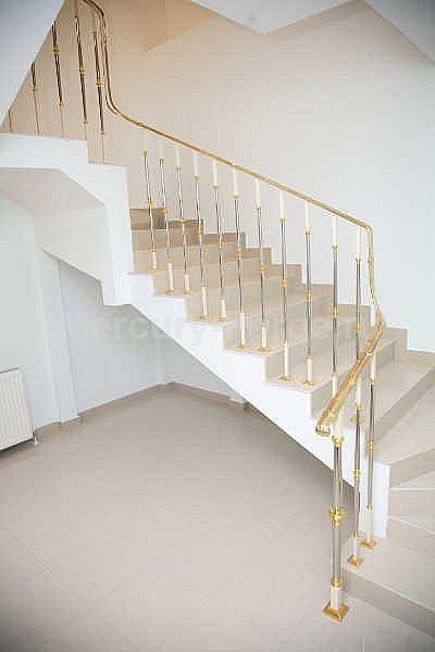 Лестничное ограждение французского производства из латуни - «Mercury Forge» #stairs #decor # home #grandeforge #paris #mercuryforge #лестницы #ограждения #париж #москва #дом #интерьер