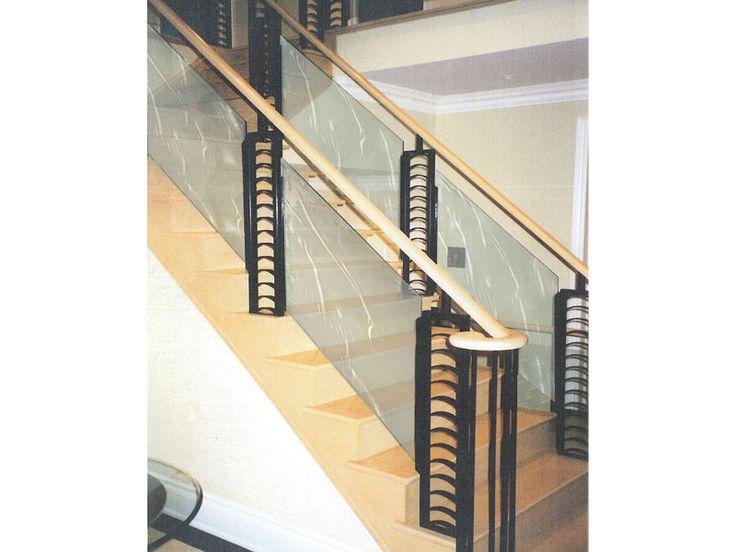 Textured Glass Railing (G-RL10) #decor #interior #interiordesign #homedesign #homestyle #homewares #interiorinspiration #cbdglass