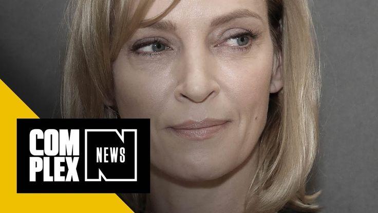 Uma Thurman Shares Details of Alleged Harvey Weinstein Assault, Quentin ...