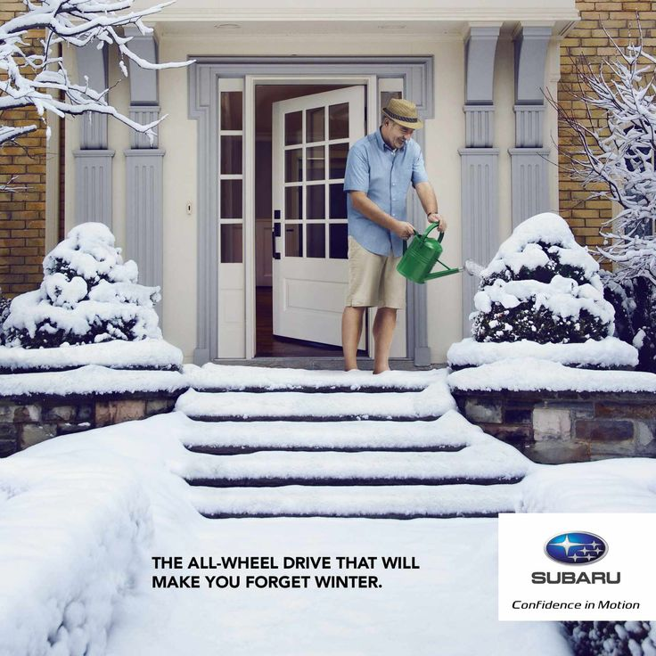 Quebec Subaru Dealers' Association: Forget winter, 3