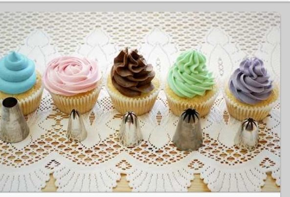 how to make cupcake frosting for piping