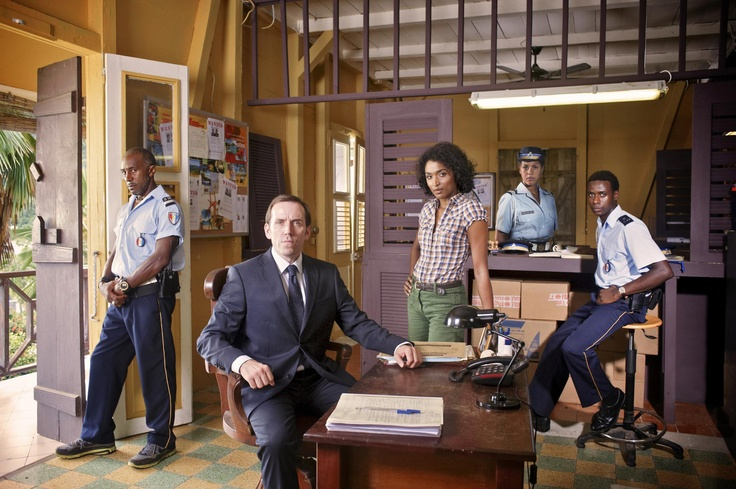 Death in Paradise, British crime show. It's very good.