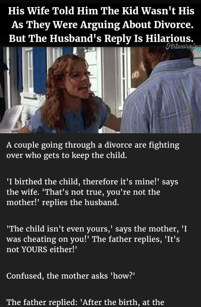 wife tells husband about cheating