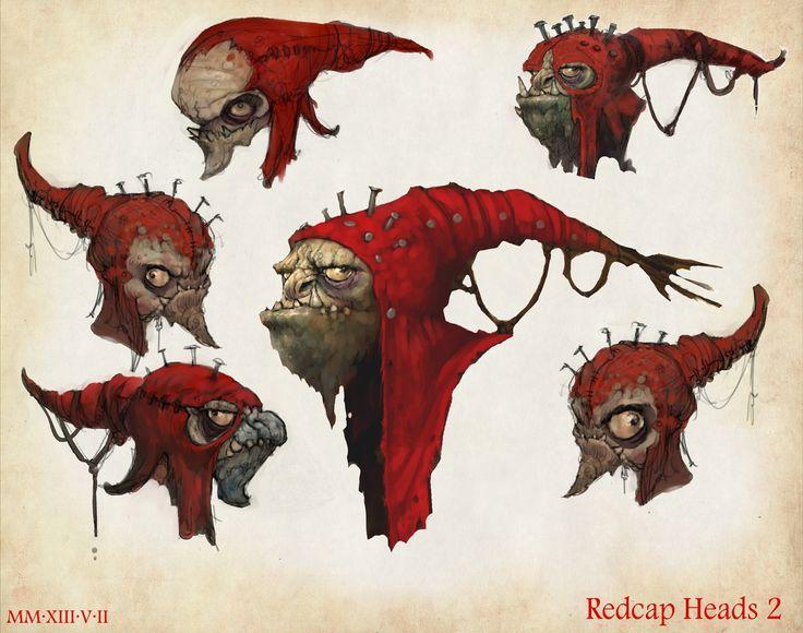 Redcap fey winter hat - Google Search
